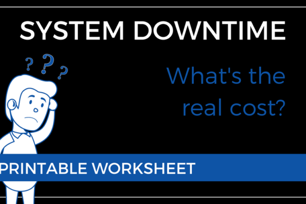 How To calculate the cost of system downtime
